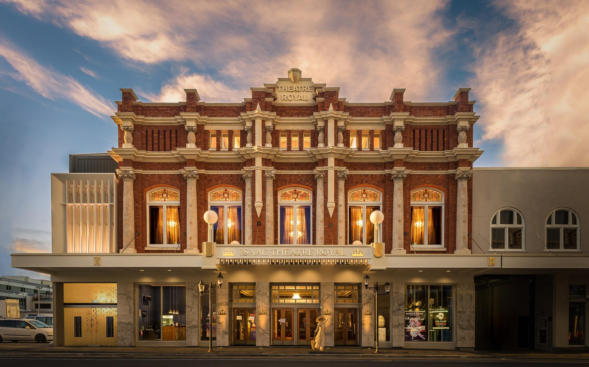 Christchurch Isaac Theatre Royal