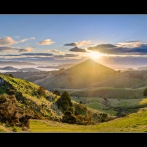 Otago Peninsula sunrise
