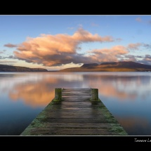 Lake Tarawera Sunset