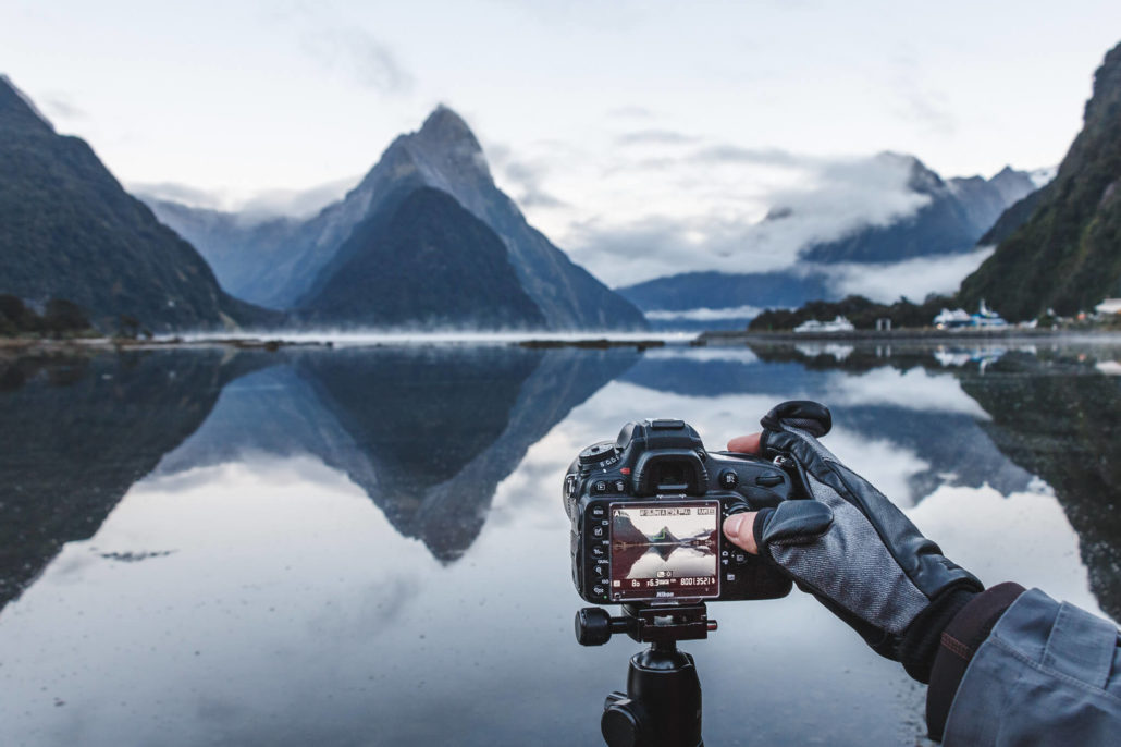 Behind The Scene at Milford Sound