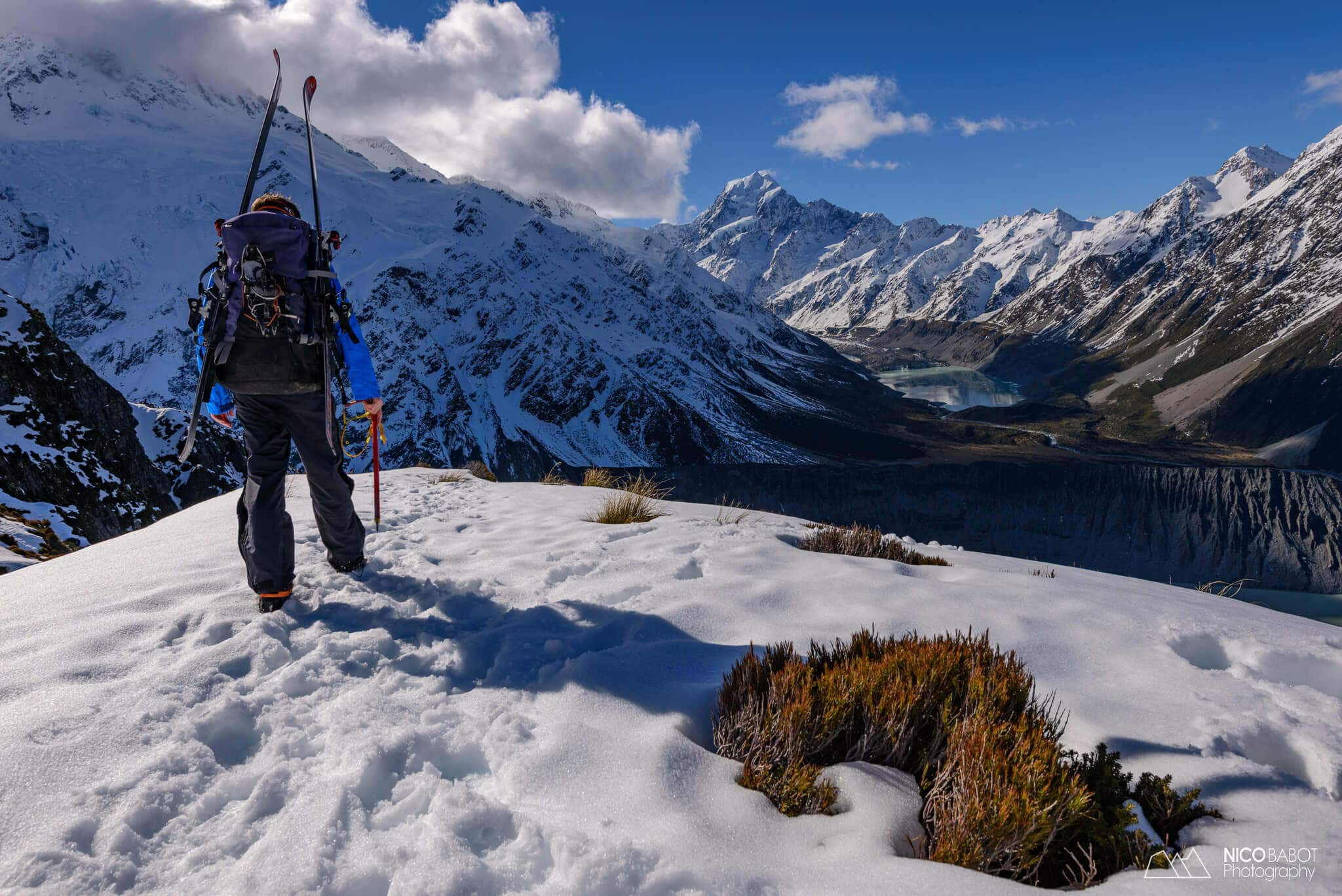 Photography guide Mueller hut - Views from Sealy tarns Photo by Nico Babot (1)