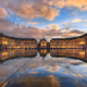 Sunset Bordeaux Place de la Bourse photo by Nico Babot